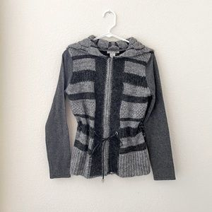Alberto Makali zip up sweater